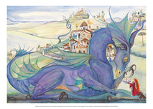 Load image into Gallery viewer, My Dragon is as Big as a Village - Jackie Morris Poster