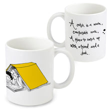 Load image into Gallery viewer, Cwtch up with a Book mug