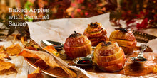 Load image into Gallery viewer, Autumn Recipes by Angela Gray Huw Jones published by Graffeg Angela Gray's Cookery School baked apples with caramel sauce