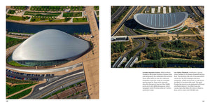 Bird's Eye London Paul Campbell published by Bird Eye Books London Aquatics Centre Lee Valley VeloPark