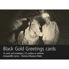 Load image into Gallery viewer, Black Gold Pit Pony and Ostler Card Pack