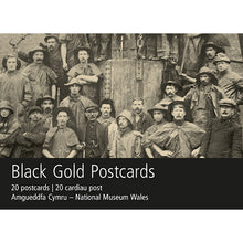 Load image into Gallery viewer, Black Gold Postcard Pack