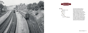 Lost Lines of Wales Brecon to Newport by Tom Ferris, published by Graffeg. Brecon