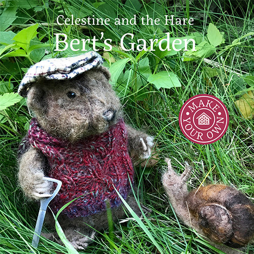 Bert's Garden Celestine and the Hare - Karin Celestine published by Graffeg