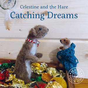 Catching Dreams Celestine and the Hare Karin Celestine published by Graffeg