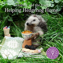 Load image into Gallery viewer, Helping Hedgehog Home by Karin Celestine, published by Graffeg, part of the Celestine and the Hare series