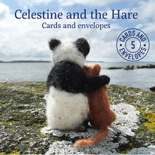Load image into Gallery viewer, Celestine and the Hare Greetings Card - 5 Pack