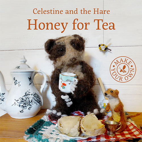 Honey for Tea - Celestine and the Hare by Karin Celestine, published by Graffeg