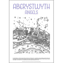Load image into Gallery viewer, Aberystwyth Angels - Helen Elliott Colouring Poster
