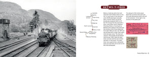 Lost Lines of Wales Conwy Valley Line by Paul Lawton and David Southern, published by Graffeg. Betws-y-Coed