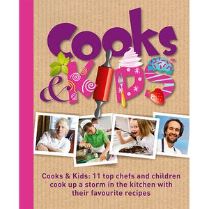 Cooks and Kids published by Graffeg
