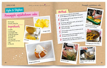 Load image into Gallery viewer, Cooks and Kids published by Graffeg Pineapple Upside Down Cake