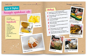 Cooks and Kids published by Graffeg Pineapple Upside Down Cake