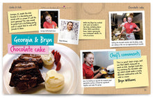 Load image into Gallery viewer, Cooks and Kids published by Graffeg Chocolate Cake