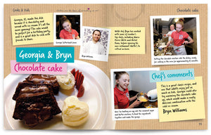 Cooks and Kids published by Graffeg Chocolate Cake