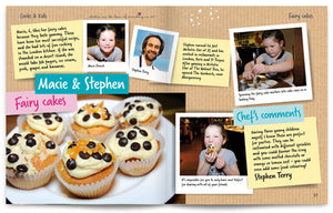 Cooks and Kids published by Graffeg Fairy Cakes