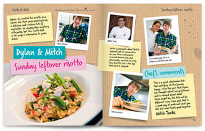 Cooks and Kids published by Graffeg Sunday leftover risotto