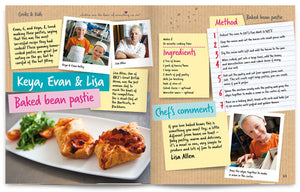 Cooks and Kids published by Graffeg Baked Bean Pastie
