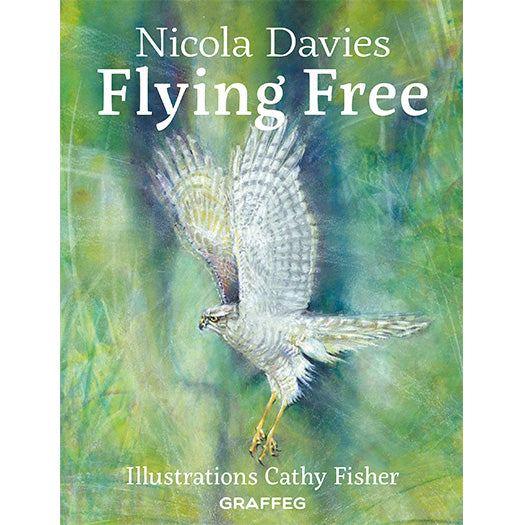 Flying Free by Nicola Davies illustrated by Cathy Fisher published by Graffeg, part of the Country Tales series
