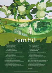 Fern Hill - Poster Poem