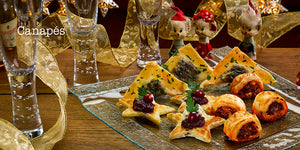 Festive Recipes Angela Gray Angela Gray's Cookery School Huw Jones published by Graffeg Canapés