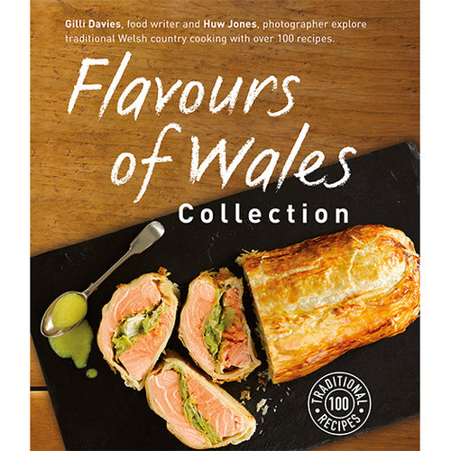 Flavours of Wales Collection Gilli Davies Huw Jones published by Graffeg