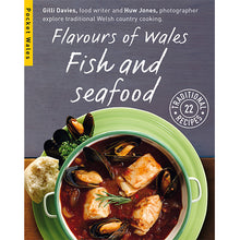 Load image into Gallery viewer, Flavours of Wales PG Pack Pocket Wales Gilli Davies Huw Jones published by Graffeg Fish and Seafood