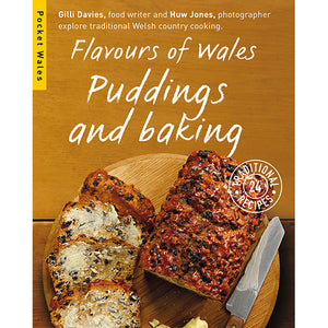 Flavours of Wales PG Pack Pocket Wales Gilli Davies Huw Jones published by Graffeg Puddings and Baking