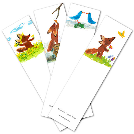 Fletcher's Four Seasons Bookmark Pack