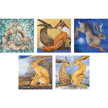 Load image into Gallery viewer, Jackie Morris Hares Greetings Cards