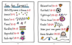 Fun for Fingers by Anna Bruder published by Graffeg