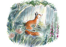 Load image into Gallery viewer, Gaspard the Fox Postcard Pack