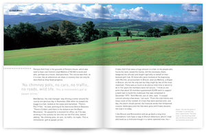 Golf Wales by John Hopkins and Colin Pressdee, published by Graffeg Cradoc