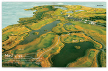 Load image into Gallery viewer, Golf Wales by John Hopkins and Colin Pressdee, published by Graffeg. Machynys