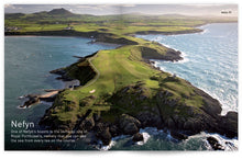 Load image into Gallery viewer, Golf Wales by John Hopkins and Colin Pressdee, published by Graffeg. Nefyn