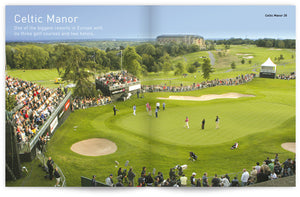Golf Wales by John Hopkins and Colin Pressdee, published by Graffeg. Celtic Manor