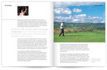 Load image into Gallery viewer, Golf Wales by John Hopkins and Colin Pressdee, published by Graffeg. Llanymynech