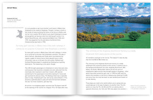 Golf Wales by John Hopkins and Colin Pressdee, published by Graffeg. Holyhead