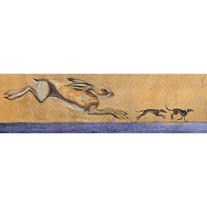 Jackie Morris Limited Edition Print: The Unquiet Dreams of Swift Running Longdogs