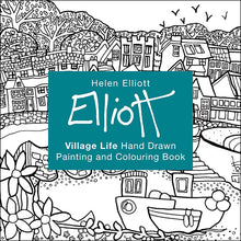 Load image into Gallery viewer, Helen Elliott Village Life Colouring Book, published by Graffeg