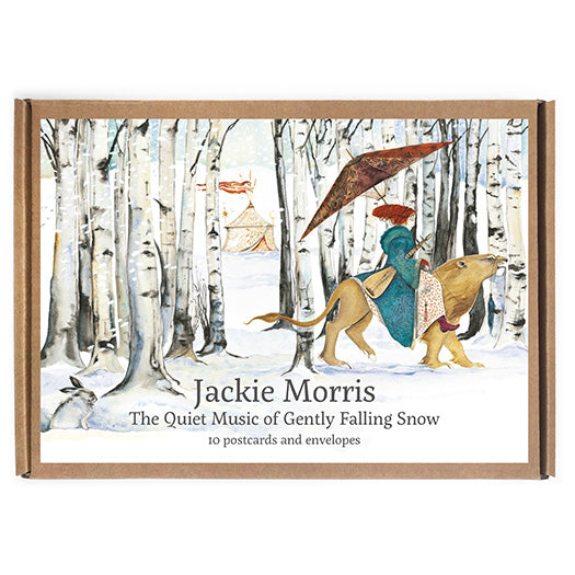 The Quiet Music of Gently Falling Snow Postcard Pack