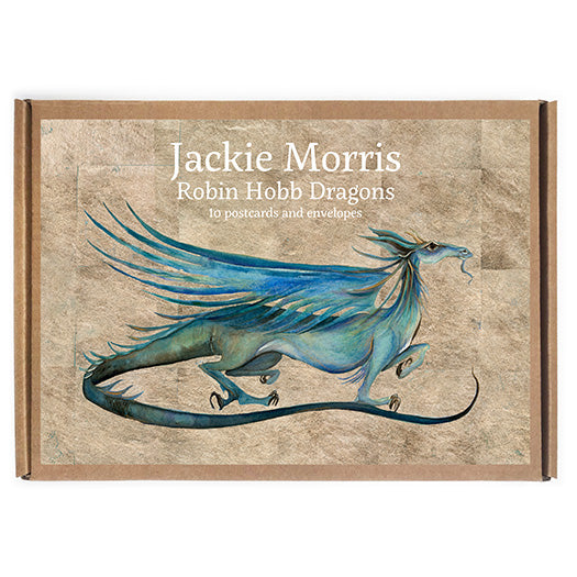 Robin Hobb Dragon Postcard Pack
