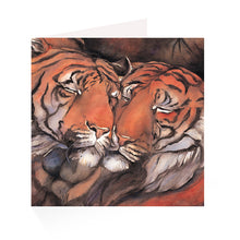 Load image into Gallery viewer, Jackie Morris Tigers Greetings Cards