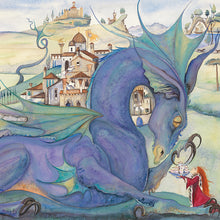 Load image into Gallery viewer, Jackie Morris Dragons Greetings Cards