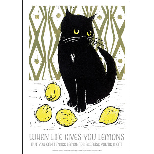 When Life Gives you Lemons - Jo Cox Poster