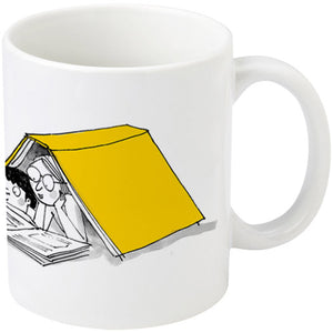 Cwtch up with a Book mug