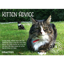 Load image into Gallery viewer, Kitten Advice Notecard Pack