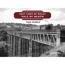 Load image into Gallery viewer, Lost Lines of Wales: Vale of Neath by Tom Ferris, published by Graffeg