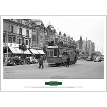 Load image into Gallery viewer, Lost Tramways of Wales Poster - Llandudno