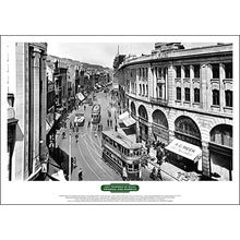 Load image into Gallery viewer, Lost Tramways of Wales Poster - Castle Street, Swansea